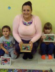 27 грудня відбувся Майстер-клас з Наталею Ляшковою по виготовленню новорічноі картинки